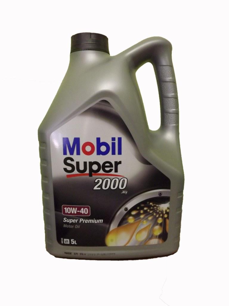 Mobil Super 2000 X1 10W-40 5л