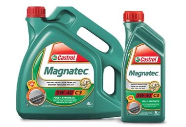 Castrol MAGNATEC 5W-40 C3 4л
