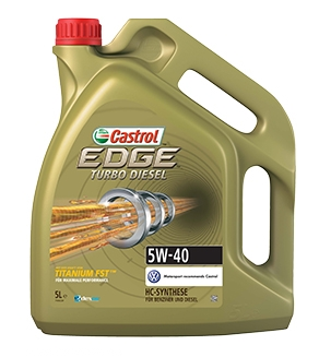 Castrol EDGE Turbo Diesel 5W-40 5л