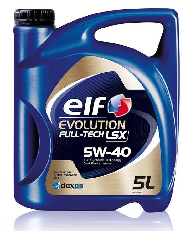 EVOLUTION FULL-TECH LSX 5W-40 5л