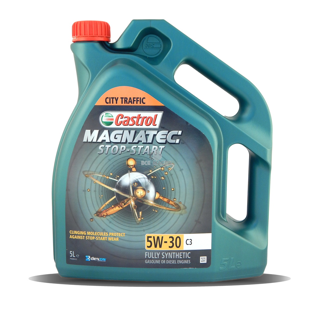 CASTROL Magnatec Stop-Start 5W-30 C3, 5л