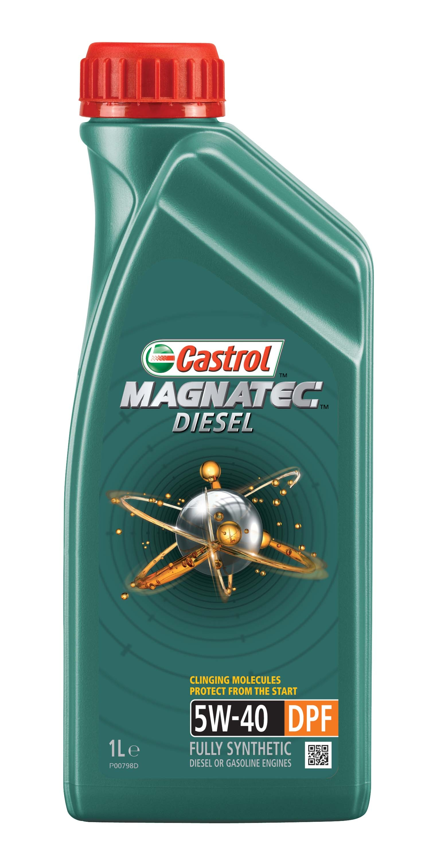 Castrol MAGNATEC Diesel 5W-40 DPF 1л