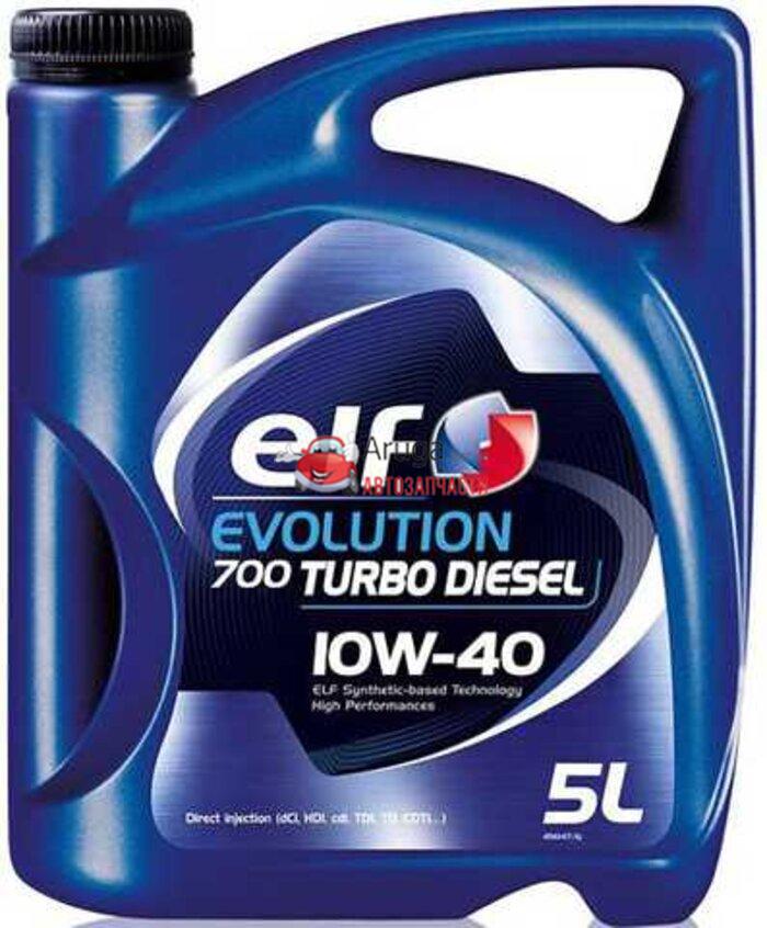 Elf Evolution 700 Turbo Diesel 10W-40 5л