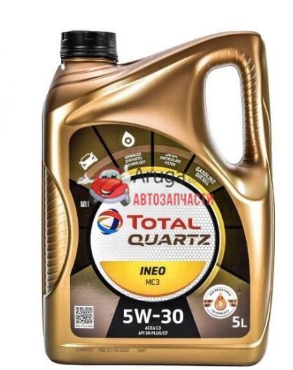 Total 5W30 Quartz Ineo MC3 5W30 5л